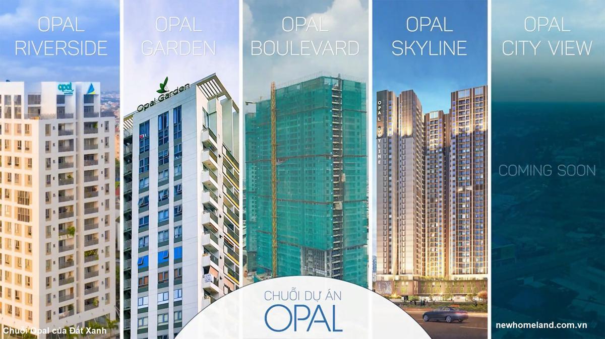 Chuỗi sản phẩm Opal của Đất Xanh