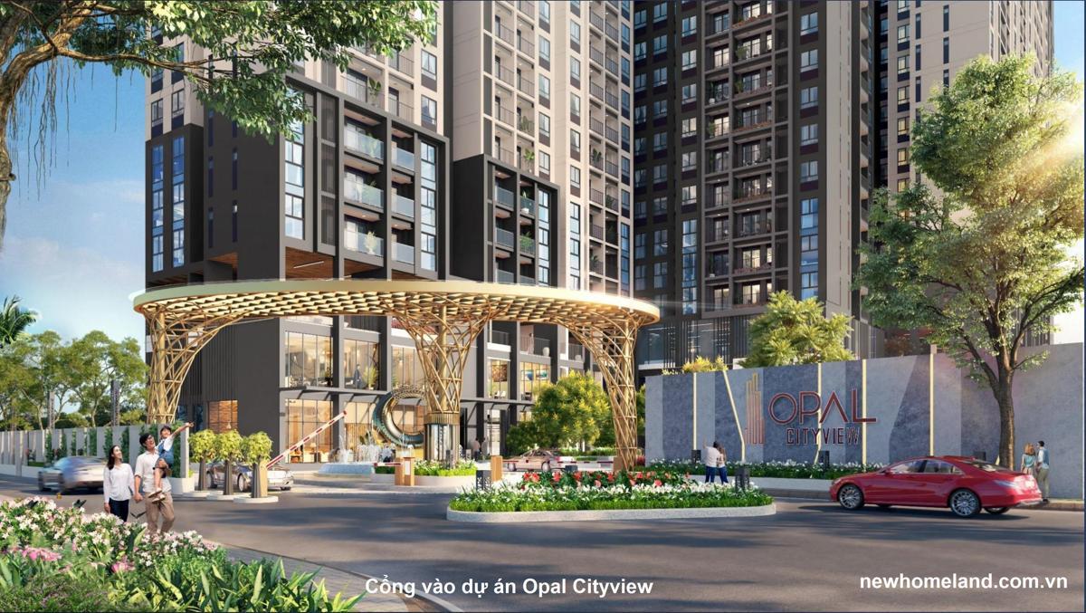 Cổng vào dự án Opal Cityview