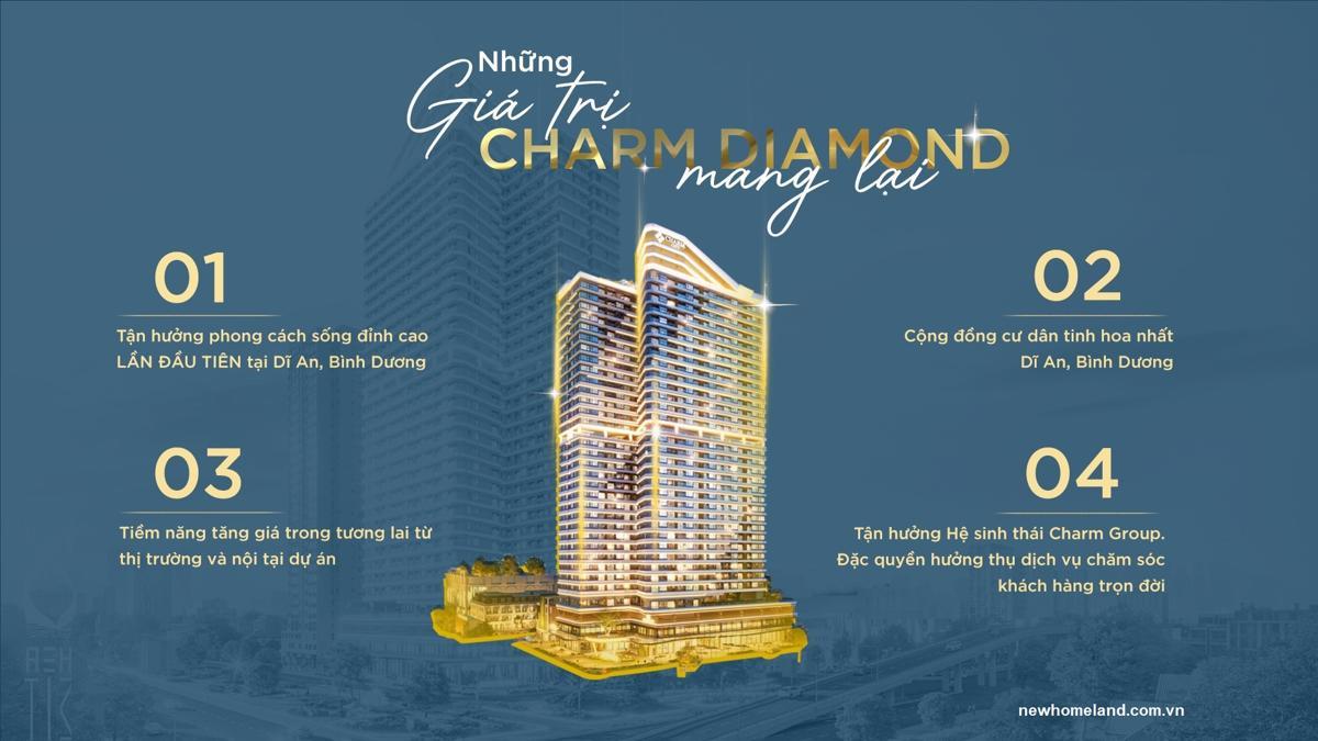 4 lý do mua Charm Diamond