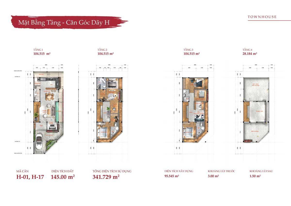 Thiết kế nhà phố Takara Residence