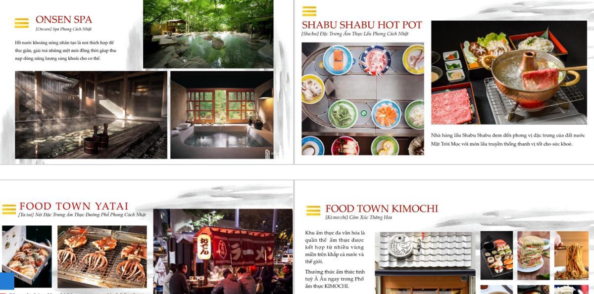 Tiện ích ẩm thực Takara Residence Bình Dương